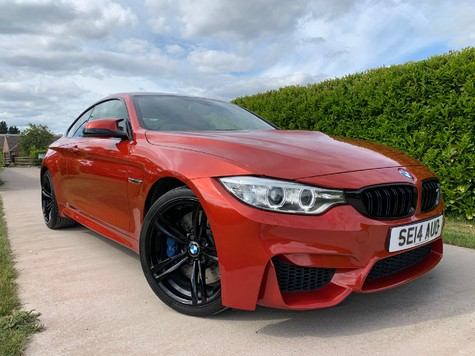 BMW M4 M TwinPower Turbo DCT Auto Start-Stop Entry
